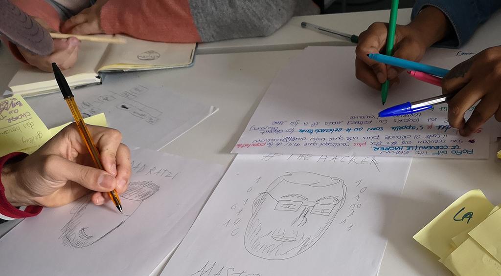 Atelier créatif - brainstorming